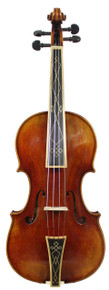 Stradivari Post-1700 Pattern Baroque Violin D. Rickert Musical Instruments (front)