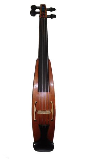 International Travel Violin Plan View (lefty version) (Don Rickert Musician Shop)