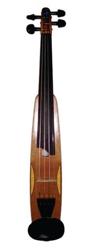 New International Explorer Travel Violin by D. Rickert (plan view)