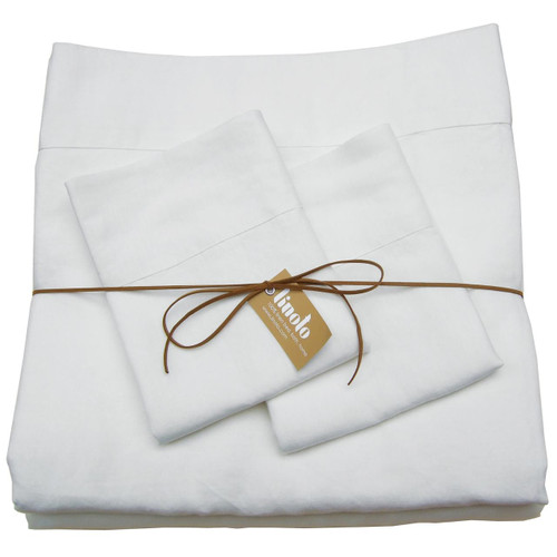 Linoto Linen sheet set. Made in USA from real flax.