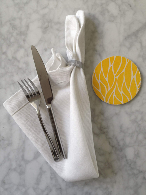 Linoto linen napkins. Made in USA by Linoto.