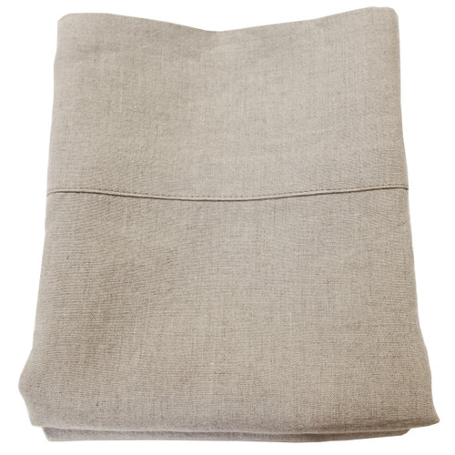 Organic linen pillowcases & shams
