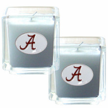 Alabama Crimson Tide Vanilla Candle Set NCCA College Sports C2CD13
