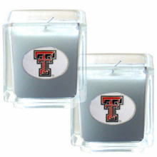 Texas Tech Raiders Vanilla Candle Set NCCA College Sports C2CD30