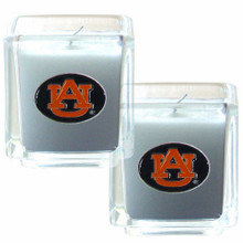 Auburn Tigers Vanilla Candle Set NCCA College Sports C2CD42