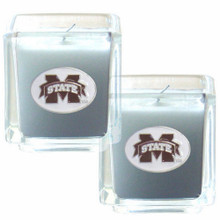 Mississippi State Bulldogs Vanilla Candle Set NCCA College Sports C2CD45