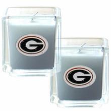 Georgia Bulldogs Vanilla Candle Set NCCA College Sports C2CD5