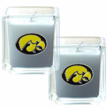 Iowa Hawkeyes Vanilla Candle Set NCCA College Sports C2CD52