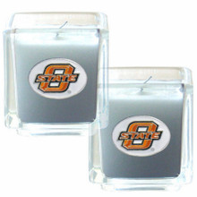 Oklahoma State Cowboys Vanilla Candle Set NCCA College Sports C2CD58