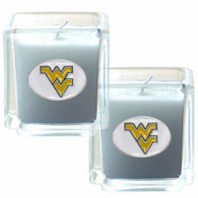 West Virginia Mountaineers Vanilla Candle Set NCCA College Sports C2CD60