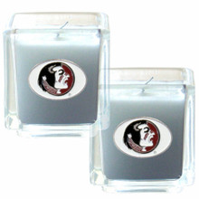 Florida State Seminoles Vanilla Candle Set NCCA College Sports C2CD7