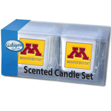 Minnesota Golden Gophers Vanilla Candle Set NCCA College Sports C2CD77