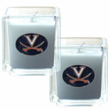 Virginia Cavaliers Vanilla Candle Set NCCA College Sports C2CD78