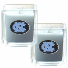 North Carolina Tar Heels Vanilla Candle Set NCCA College Sports C2CD9