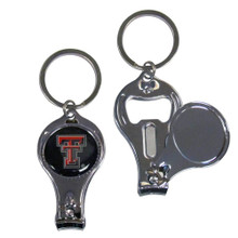 Texas Tech Raiders 3 in 1 Keychain NCCA College Sports C3KC30