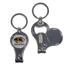 Missouri Tigers 3 in 1 Keychain NCCA College Sports C3KC67