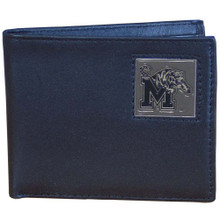 Memphis Tigers Black Bifold Wallet NCCA College Sports CBI103