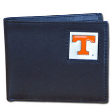 Tennessee Volunteers Black Bifold Wallet NCCA College Sports CBI25
