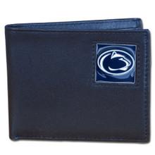 Penn State Nittany Lions Black Bifold Wallet NCCA College Sports CBI27