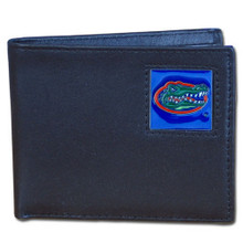 Florida Gators Black Bifold Wallet NCCA College Sports CBI4