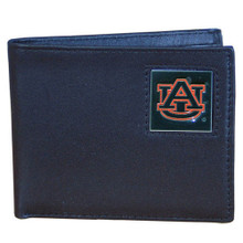 Auburn Tigers Black Bifold Wallet NCCA College Sports CBI42