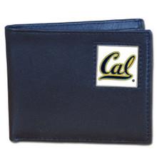 Cal Berkeley Bears Black Bifold Wallet NCCA College Sports CBI56