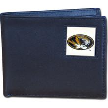 Missouri Tigers Black Bifold Wallet NCCA College Sports CBI67