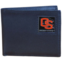Oregon State Beavers Black Bifold Wallet NCCA College Sports CBI72