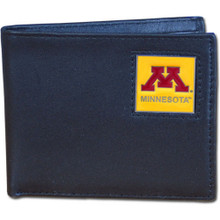 Minnesota Golden Gophers Black Bifold Wallet NCCA College Sports CBI77