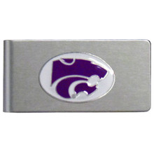 Kansas State Wildcats Brushed Money Clip NCCA College Sports CBMC15