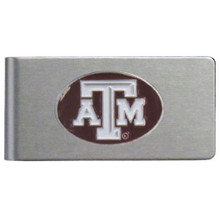 Texas A&M Aggies Brushed Money Clip NCCA College Sports CBMC26