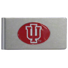 Indiana Hoosiers Brushed Money Clip NCCA College Sports CBMC39