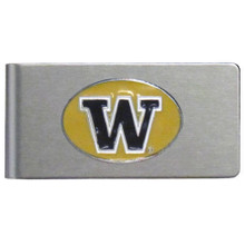 Washington Huskies Brushed Money Clip NCCA College Sports CBMC49