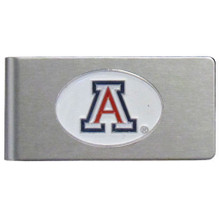 Arizona Wildcats Brushed Money Clip NCCA College Sports CBMC54