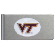 Virginia Tech Hokies Brushed Money Clip NCCA College Sports CBMC61