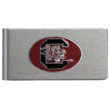 South Carolina Gamecocks Brushed Money Clip NCCA College Sports CBMC63