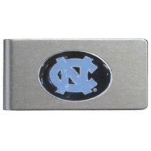 North Carolina Tar Heels Brushed Money Clip NCCA College Sports CBMC9