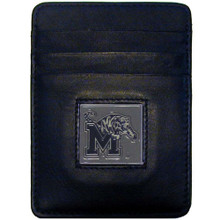 Memphis Tigers Leather Money Clip Card Holder Wallet NCCA College Sports CCH103