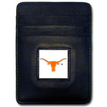 Texas Longhorns Leather Money Clip Card Holder Wallet NCCA College Sports CCH22