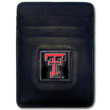 Texas Tech Raiders Leather Money Clip Card Holder Wallet NCCA College Sports CCH30