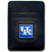 Kentucky Wildcats Leather Money Clip Card Holder Wallet NCCA College Sports CCH35