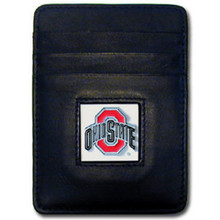 Ohio State Buckeyes Leather Money Clip Card Holder Wallet NCCA College Sports CCH38