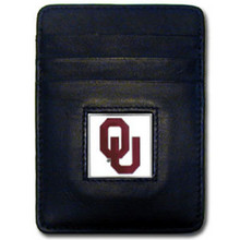 Oklahoma Sooners Leather Money Clip Card Holder Wallet NCCA College Sports CCH48
