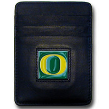 Oregon Ducks Leather Money Clip Card Holder Wallet NCCA College Sports CCH50