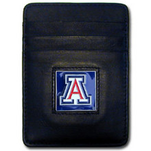 Arizona Wildcats Leather Money Clip Card Holder Wallet NCCA College Sports CCH54