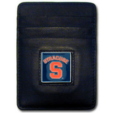 Syracuse Orange Leather Money Clip Card Holder Wallet NCCA College Sports CCH62