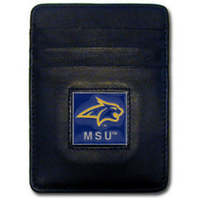 Montana State Bobcats Leather Money Clip Card Holder Wallet NCCA College Sports CCH74