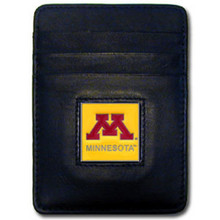 Minnesota Golden Gophers Leather Money Clip Card Holder Wallet NCCA College Sports CCH77