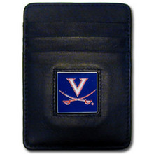 Virginia Cavaliers Leather Money Clip Card Holder Wallet NCCA College Sports CCH78