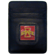 Iowa State Cyclones Leather Money Clip Card Holder Wallet NCCA College Sports CCH83